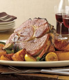 A favorite sweetener of the pioneers, maple syrup today lends its distinctive tang to ham and other winter dishes. Recipe: Maple Orange Glazed Ham   - CountryLiving.com