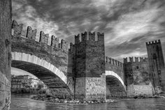 This bridge was built for private use by the lords of Verona as an escape route to the Allies. marcel clemens photography