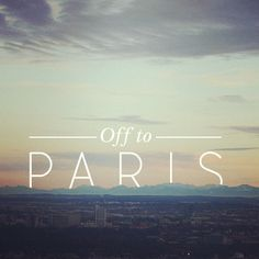 my fav city in the world #love #paris