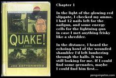 Quake - The novel.