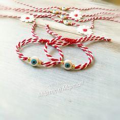 Handmade jewellery March bracelet ceramic Nameplate Necklace, Monogram Necklace, Handmade Jewellery, Handmade Bracelets, Jewelry Necklaces, Ceramics, Earrings, Templates, Silk Thread