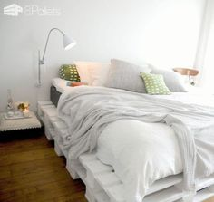 Easy DIY Ideas For Pallet Beds DIY Pallet Beds, Pallet Bed Frames & Pallet Headboards