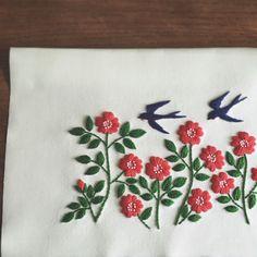 have a wonderful and inspiring summer followers Naoko Asaga Embroidery.