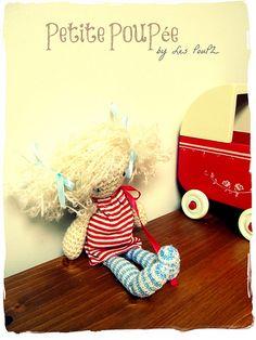 Petite PouPée - 8-inch crochet doll