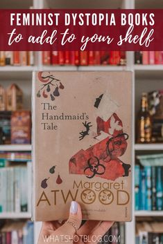 The Handmaid's Tale by Margaret Atwood has sparked an interest in feminist dystopia books. Here's what to read next if you loved The Handmaid's Tale! #whatshotblog #bookreview #books #feministdystopia #dystopia #thehandmaidstale #booklover