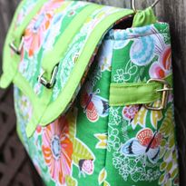 Free Kennedy Bag Pattern from Sara of <em>Sew Sweetness</em>