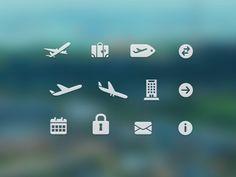 Dribbble - Free Travel Icons by Konrad