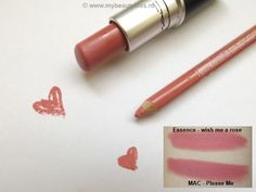 Dupe Alert: Best Replacement For MAC Please Me http://www.mybeautykiss.ro/DupeAlert_BestReplacementForMACPleaseMe.php