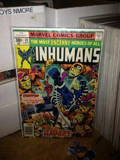 THE INHUMANS #10 AVENGERS, MARVEL COMICS