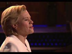 "On ""Saturday Night Live"" Kate McKinnon as Hillary Clinton Sings 'Hallelu..."