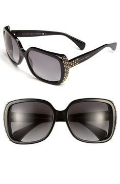 Alexander McQueen Sunglasses | Nordstrom | I WILL own these.