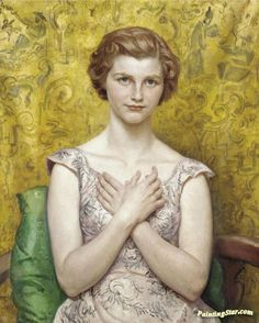 Portrait Of Jane Artwork By Dame Laura Knight Oil Painting & Art Prints On Canvas For Sale Sarah Knight, Munier, Knight Art, English Artists, British Artists, Edgar Degas, Pre Raphaelite, Impressionist Art, Art Prints For Sale