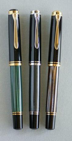 Pelikan M805 Stresemann Pelikan Fountain Pen, Fountain Pen Ink, Pelikan Pens, Expensive Pens, Luxury Pens, Pen Design, Pen Turning, Best Pens, Dip Pen