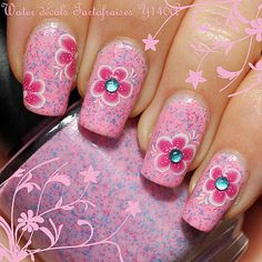 Water décals collection Tartofraises Y140A (Over Jindie Nails Talk Nerdy To Me)