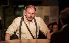Don Wycherley in Fishamble's INSIDE THE GPO by Colin Murphy. Photo by Pat Redmond