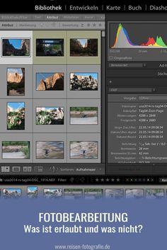 Was ist in der Fotobearbeitung erlaubt? Wie weit darf man bei der Bearbeitung von Bildern gehen? Wo fängt die Manipulation an?