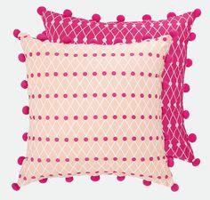 Net Block Cushion - 45 x 45 cm