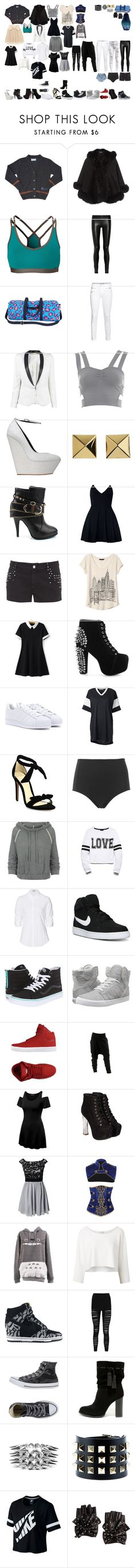 """""""my style 20"""" by keeliewatsonoffical ❤ liked on Polyvore featuring Harrods, Casall, The Row, J Brand, rag & bone, Miss Selfridge, Giuseppe Zanotti, Vince Camuto, Christian Louboutin and Motel"""
