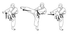 "taichishoesswords: "" Kung Fu Leg Workouts Kung Fu is a traditional Chinese martial art that utilizes a wide variety of kicks, stances and other footwork maneuvers. Shotokan Karate, Isshinryu Karate, Karate Kata, Kyokushin Karate, Martial Arts Styles, Martial Arts Techniques, Mixed Martial Arts, Boxing Techniques, Judo"