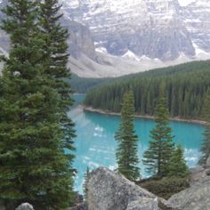 A view from a weekend of hiking at Lake Louise