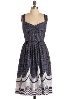 Wonders Never Seas Dress, #ModCloth perfect summer dress!