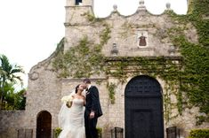 This venue is amazing - Coconut Grove Miami Church Wedding
