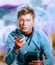 Dr. Leonard 'Bones' McCoy.