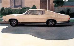 """Robert Bechtle - """"'69 Ford"""",1973"""