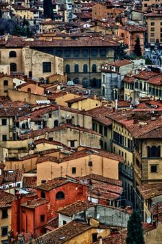 Places to visit: Florence, Italy.