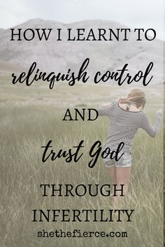 When God Lets You Down: Keeping Your Arms Open When Your Heart Aches (a story of infertility) | Dealing with infertility is heart breaking and so difficult. Trusting God through it can be even harder. Read my journey and find some hope for your own. Infertility | Faith | Trust