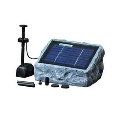 Sunnydaze Outdoor Solar Pump And Panel Fountain Kit With Battery Pack And Led Li Price Remains Stable Fish & Aquariums Pet Supplies