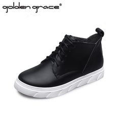 42.04$  Watch now - http://ali5iq.worldwells.pw/go.php?t=32704470964 - Genuine Leather 2017 New High Quality Casual Shoes Women New Fashion Soft Shoes Drop Shipping Autumn Women 42.04$