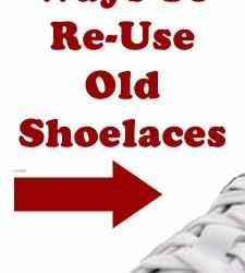 12 Awesome Ways To Re-Use Old Shoelaces! Go to www.poshonabudget.com to check out this and so many other reviews, information, recipes, etc! Thanks Michele :)