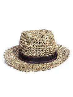 Lanvin  Loose weave straw hat