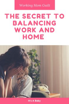 Feeling guilty about working and leaving baby at daycare or with the nanny is a common emotion amongst moms. Being a working mom can be tough emotionally, but it doesn't have to be. Use self-care tips to help you balance work and home. Working Mom Tips, Working Mother, Pumping At Work, Advice For New Moms, Pregnancy Advice, Organized Mom, Breastfeeding Tips, Professional Women, Work From Home Moms