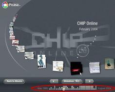 Extras: Diashow und 3D-Zeitleiste - Workshop: Bilder verwalten mit Google Picasa - CHIP