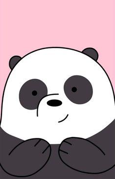 Colección de fondos de pantalla Escandalosos Kawaii Polar, Panda y Pardo para c. Cute Panda Wallpaper, Cartoon Wallpaper Iphone, Bear Wallpaper, Cute Disney Wallpaper, Kawaii Wallpaper, Cute Wallpaper Backgrounds, Galaxy Wallpaper, Aesthetic Iphone Wallpaper, We Bare Bears Wallpapers