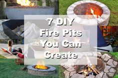 7 DIY Fire Pits You Can  Create