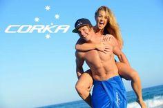 Mens Swimwear -  #swimwear #corka #australia #beach #mens #tshirts #caps #towels