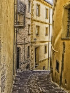 Old town Seui City by Michele Pinna Marras