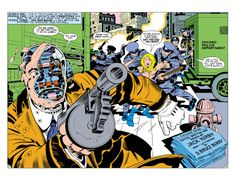In Jack Kirby's Kamandi, Chicago is overrun by robot mobsters.