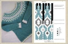 Intarsia Patterns, Baby Knitting Patterns, Fair Isle Knitting, Baby Sweaters, Free Pattern, Clothes, Icelandic Sweaters, Crochet Crafts, Crochet Squares