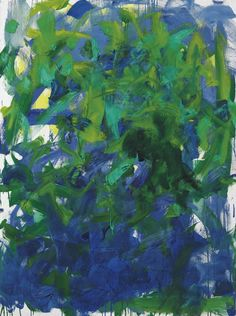 Joan Mitchell  (1925-1992), Between, 1985. Oil on canvas.