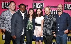 Kristian Bruun, Kevin Hanchard, Tatiana Maslany, Kathryn Alexandre, John Fawcett, and Graeme Manson - Comic-Con 2016 EW Party - See Stars' Red Carpet Arrivals - EW.com