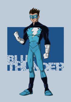 Blue Thunder- DU September Challenge by payno0.deviantart.com on @DeviantArt