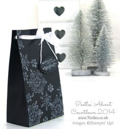 Pootles Advent Countdown #1 Endless Wishes Bag Tutorial Well I cannot believe that a year has flown by and that we're back onto the Advent Countdown Series