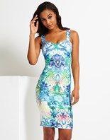 Lipsy Print Strap Dress