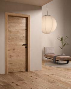 Porte moderne in legno con incisioni: Collezione Patio Interior Door Styles, Door Design Interior, Modern Home Interior Design, Interior Architecture, Modern Door Design, Exterior Design, Modern Wood Doors, Wooden Doors, Wooden Interior Doors