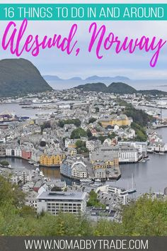This list of things to do in Alesund, Norway features activities in the city center, day trips around the fjords, and options for cruise excursions. Europe Destinations, Europe Travel Guide, Travel Guides, Travelling Europe, Travel Checklist, Cruise Excursions, Cruise Port, Norway Travel, Norway Vacation
