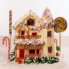 Enchanted Gingerbread House..How to !